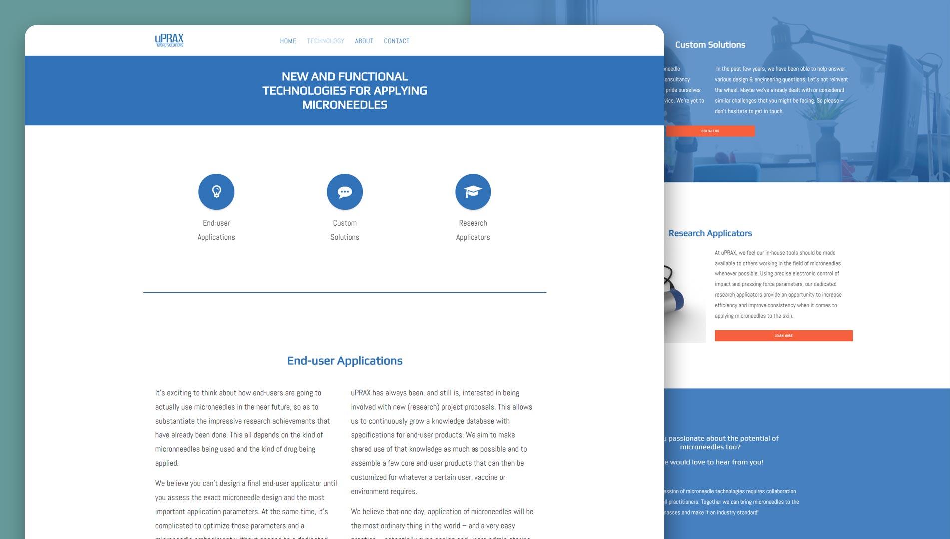 uPRAX website