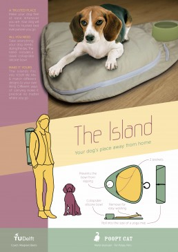 The Island | Portable Modular Dogbed
