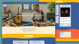 Music Academy Scheveningen website